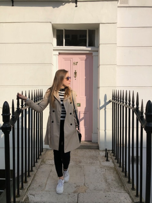 porta rosa a Londra