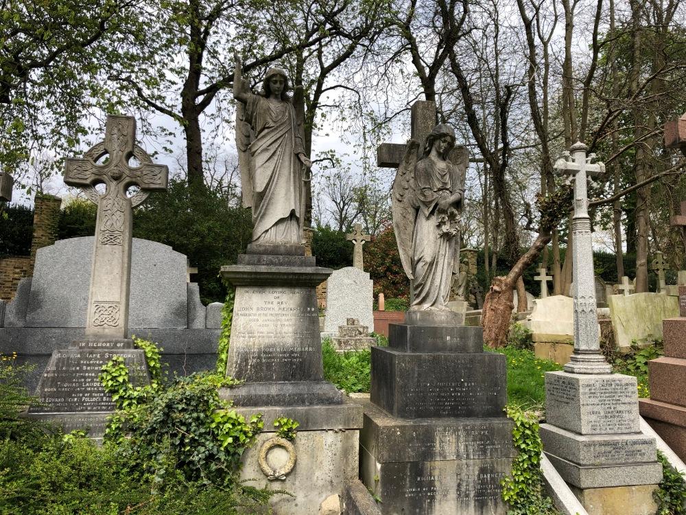 Tombe del cimitero di Highgate
