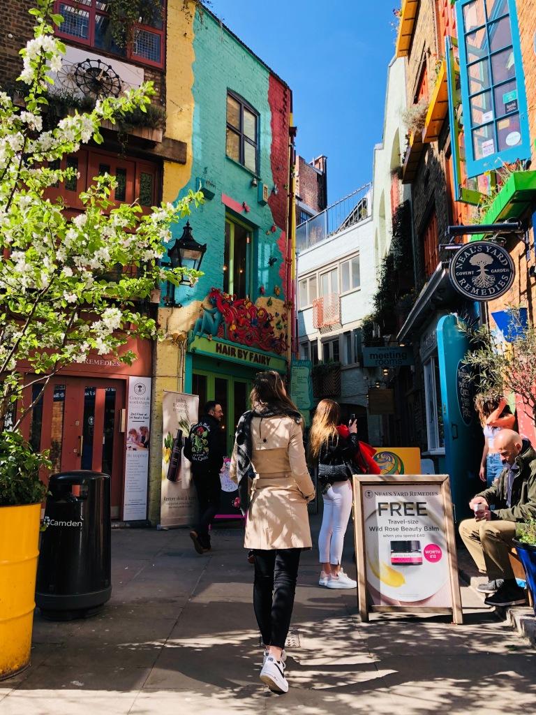 Neal's Yard, luoghi instagrammabili di Londra